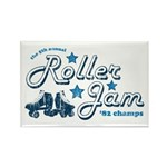 Roller Jam Rectangle Magnet