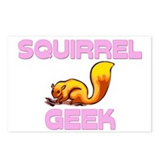 Squirrel Geek Postcards (Package of 8)
