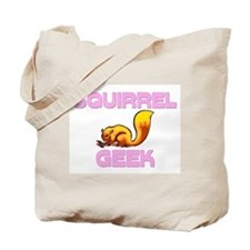 Squirrel Geek Tote Bag