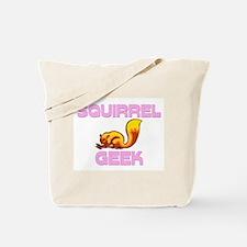 Squirrel Geek Tote Bag