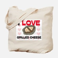I Love Grilled Cheese Tote Bag