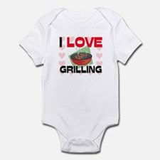 I Love Grilling Infant Bodysuit