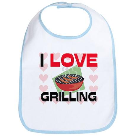 I Love Grilling Bib