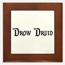 Drow Druid Framed Tile