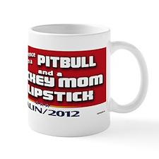Pitbull Quote - Palin 2012 Mug