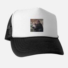 Grizzly Bear Cute Face Trucker Hat