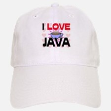 I Love Java Baseball Baseball Cap