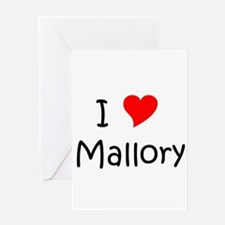 Funny Mallory Greeting Card