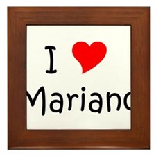 Cool Mariano Framed Tile
