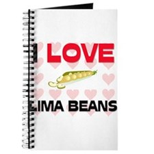 I Love Lima Beans Journal