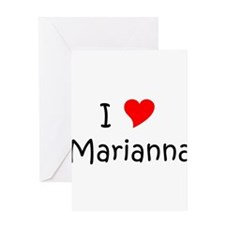 Marianna Greeting Card
