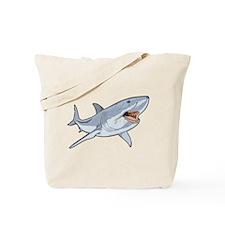 Fierce Shark Tote Bag