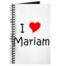 Funny Mariam Journal