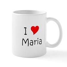 Cute I heart maria Mug