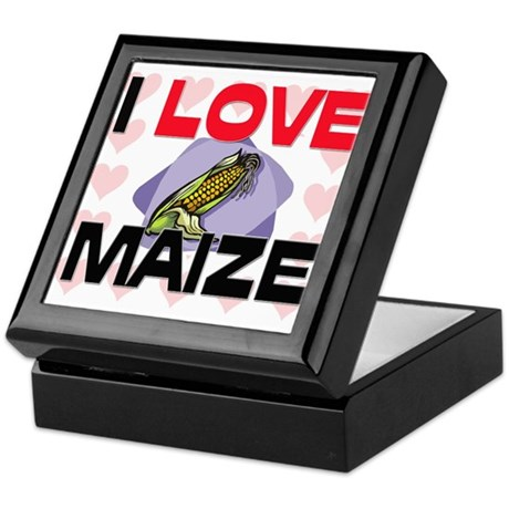 I Love Maize Keepsake Box