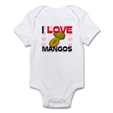 I Love Mangos Infant Bodysuit