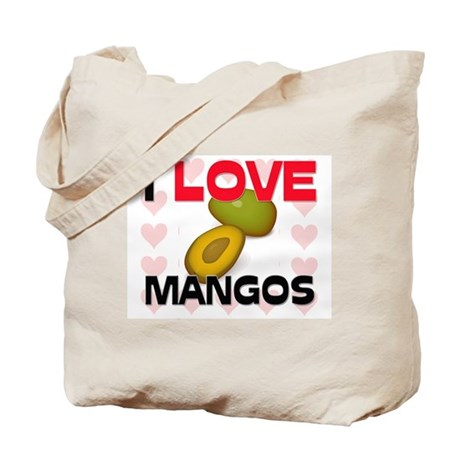 I Love Mangos Tote Bag