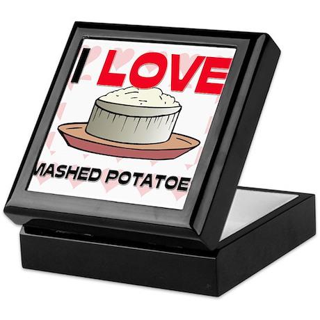 I Love Mashed Potatoes Keepsake Box