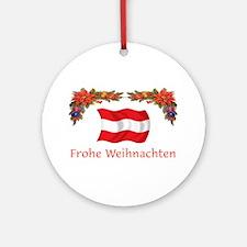 Austria Frohe...2 Ornament (Round)