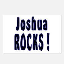 Joshua Rocks ! Postcards (Package of 8)