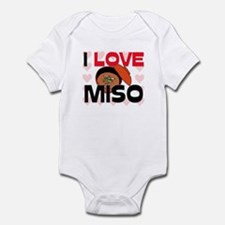 I Love Miso Infant Bodysuit