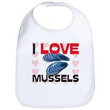 I Love Mussels Bib