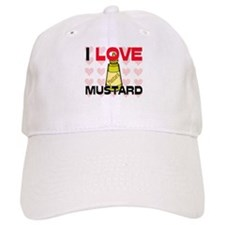 I Love Mustard Baseball Cap