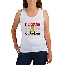 I Love Mustard Women's Tank Top