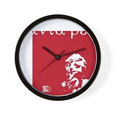 Panta rei Wall Clock