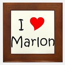 Cool Marlon Framed Tile