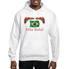 Brazil Feliz Natal 2 Hoodie