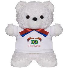 Brazil Feliz Natal 2 Teddy Bear