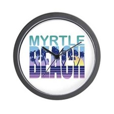 Myrtle Beach Wall Clock