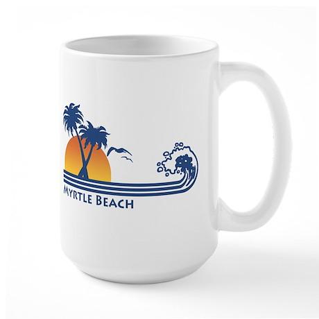 Myrtle Beach Large Mug
