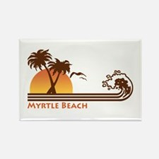 Myrtle Beach Rectangle Magnet