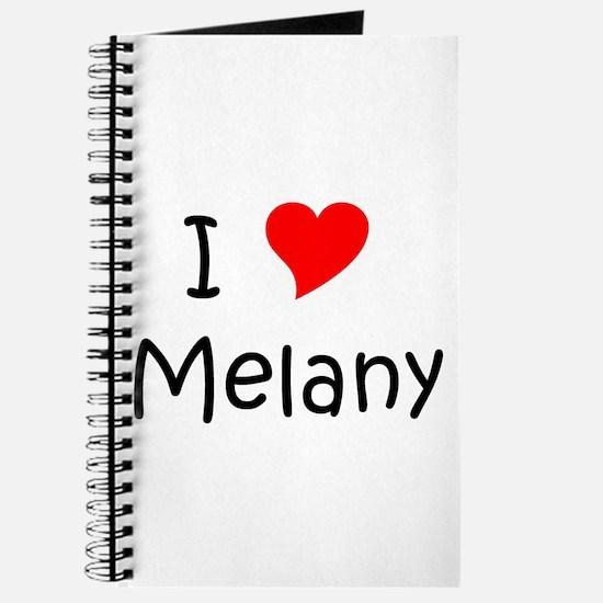Cute Melany Journal