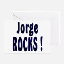 Jorge Rocks ! Greeting Cards (Pk of 10)