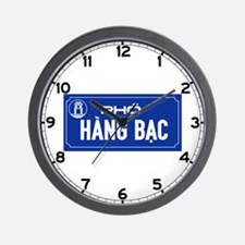 Hang Bac Street, Vietnam Wall Clock