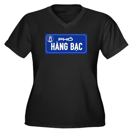 Hang Bac Street, Vietnam Women's Plus Size V-Neck