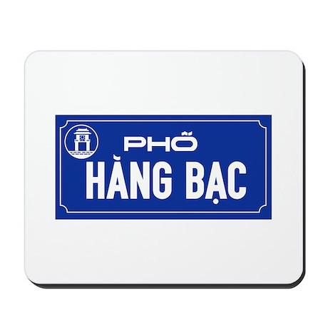 Hang Bac Street, Vietnam Mousepad