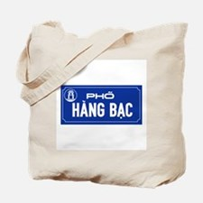 Hang Bac Street, Vietnam Tote Bag