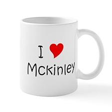 Cute I love mckinley Mug