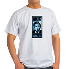 Anti-Dubya Ash Grey T-Shirt