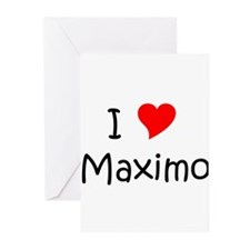 Maximo's Greeting Cards (Pk of 20)