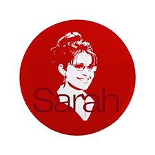 """Sarah 2008 3.5"""" Button"""