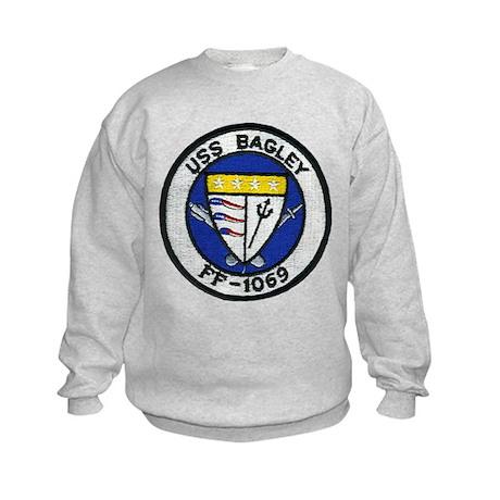 USS BAGLEY Kids Sweatshirt