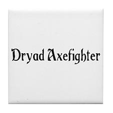 Dryad Axefighter Tile Coaster