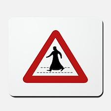 Pedestrian Crossing, UAE Mousepad