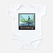 Gone Fishing 2 Infant Creeper