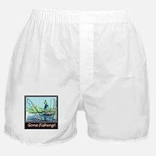 Gone Fishing 2 Boxer Shorts